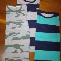 Kit camisetas Milon - 4 anos - Milon
