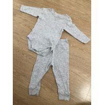 Conjuntinho de pijama - 3 meses - Dedeka