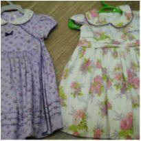 Lotinho vestidos carters yellow bug - 6 a 9 meses - Carter`s e yellow bug