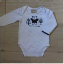 Body Branco Milon - 3 meses - Milon