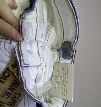 Calça Jeans Tigor T. Tigre - 2 anos - Tigor T.  Tigre