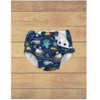 Fralda de banho - I Play - FPS 50 e 3 camadas absorventes - Tesouro do Pirata - 12 a 18 meses - Iplay