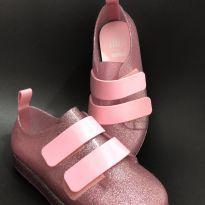 Melissa Mel Tenis Velcro Rosa/Glitter Tam 29 - 29 - Melissa