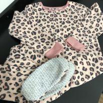 Pijama Macacão de Inverno Carter's tam 6