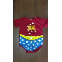 Body Bebê Maravilhosa - 3 anos - Mafessoni