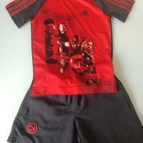 Conjunto Adidas - Os Vingadores - 3 anos - Adidas