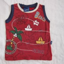 Camiseta Infantil Regata para este Verão!  (Alakazoo! - Tam 1T) - 1 ano - Alakazoo!