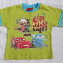 Camiseta Infantil Carros  (Tamanho 1T) - 1 ano - Carros