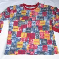 [PUC] Pijama para meninos - Tamanho4 (SEM calça) - 4 anos - PUC
