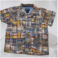 [The Children´s PLACE] Camisa moderna e trabalhada - 4T - 4 anos - The Children`s Place