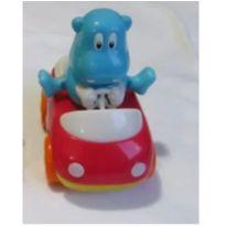 Diversão!!! Carrinho de fricção do simpático Hipopótamo que balança os pés -  - Happy kid Toy Group