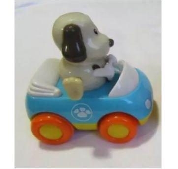 Diversão!!! Carrinho de fricção do Cãozinho que balança os pés - Sem faixa etaria - Happy kid Toy Group