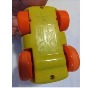 Diversão!!! Carrinho de fricção do simpático Hipopótamo que balança os pés - Sem faixa etaria - Happy kid Toy Group