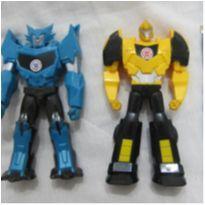 [Transformers] Boneco Robots In Disguiste - Stelljaw e  Bumblebee - 15cm -  - Hasbro