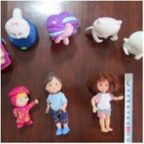 Vamos brincar! kit 8 bonequinhos para meninas -  - Mc Donald`s e Outros
