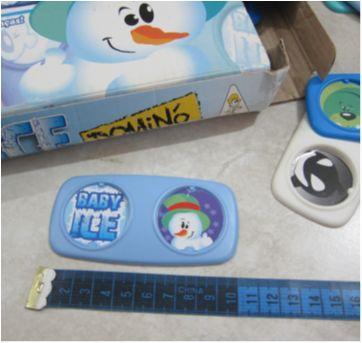 [Gulliver] Baby Ice - Dominó - Para criançada acima de 24meses - Sem faixa etaria - Gulliver