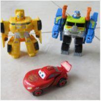 [Transformers & Carros] 2 Carros que viram robô, 1 Macqueen Vira formato de Ovo! -  - Hasbro e Outro