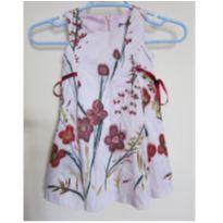 [Zara Girls] Arrase com Lindo vestido Floral - Tam 3 - 3 anos - Zara