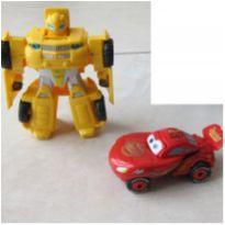 [Transformers & Carros] Carro que vira robô e Macqueen Vira formato de Ovo! -  - Hasbro e Outro