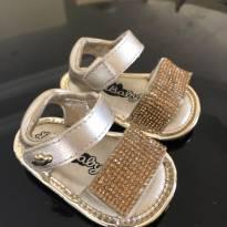 Sandália dourada Lilica Ripilica - 14 - Lilica Ripilica Baby