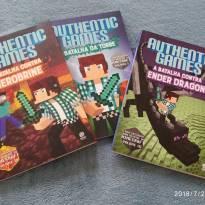 Trilogia de livros Authentic Games -  - Não informada