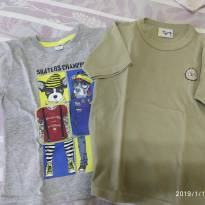 Dupla de camisetas fashion