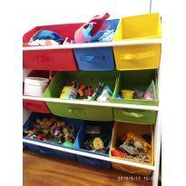 Organizador de brinquedos colorido -  - Não informada