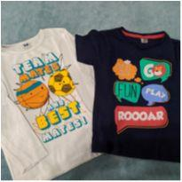 Dupla de camisetas - 3 anos - TK