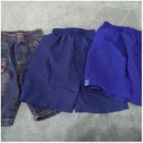 Kit de shorts - 3 anos - Várias