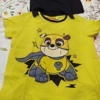 Camiseta Patrulha Canina - 4 anos - Riachuelo