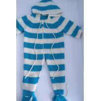 Macacão em tricoline Importado Estados Unidos - Recém Nascido - Baby Trend