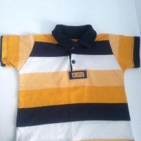 Camisa Polo Importada Italiana - 3 a 6 meses - Little Wonders