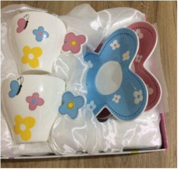 Kit Xicaras Importadas da França em porcelana - Sem faixa etaria - Importada