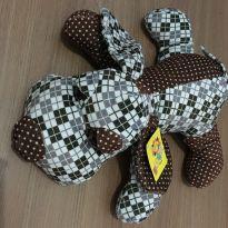 Cachorro Pelúcia Xadrez -  - Fofy Toys