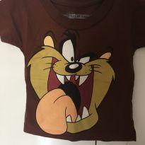 Camiseta Looney Tunes - 6 a 9 meses - Looney Tunes