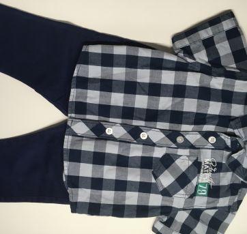 Calça Zara Baby e Camisa Importada - 6 a 9 meses - Zara
