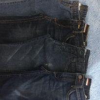 Lote 4 calças jeans Tommy Hilfiger, Carters , Primo Amore - 9 a 12 meses - Carter`s e Tommy Hilfiger