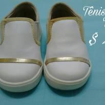 Tênis branquinho - 21 - Tricae