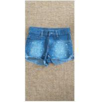 shorts jeans tam 8 marisa - 8 anos - marisa