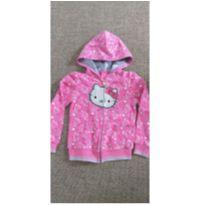 blusa de moleton hello kitty tam 6 - 6 anos - Hello Kitty by Sanrio