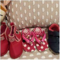 Lote sapato tamanho 23/24 - 24 - Grendene e Kidy