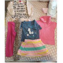 Lote de roupas tamanho 2 - 2 anos - Variadas