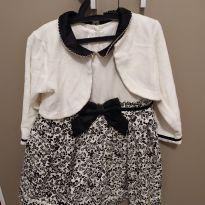Vestido de festa tamanho 2 - 24 a 36 meses - Anjos baby