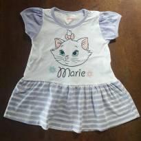 Vestidinho Gatinha Marie - 1 ano - Disney