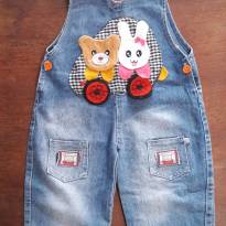 Macacão Jeans - 18 a 24 meses - XXL