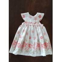 Vestido Floral - 18 a 24 meses - D TUIA BABY