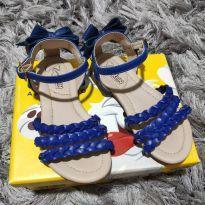 Sandália Azul - 25 - Klin