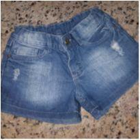short jeans descolado - 10 anos - Palomino