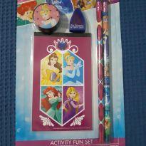 Kit Lápis, borracha e apontador Cinderela Disney -  - Disney