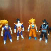 Dragon Ball - Kit com 4 bonecos -  - Não informada